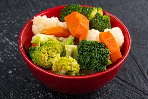 ЗОЖ (овощи на пару)